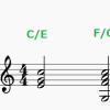 分数コードの特徴と用法(前編)~ 通常のコードでは表現できないハーモニー ~